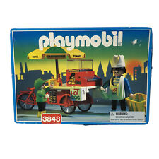Playmobil Rare 3848 Hot Dog Playset 1996 Factory Sealed Dead Stock Retired