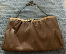 Vintage Vtg Woman's Lady's Chain Bag Handbag Pocketbook Purse Coach