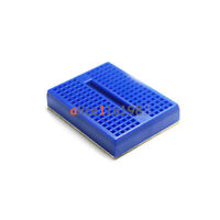 5PCS Mini Blue Solderless Prototype Breadboard 170 Tie-points for Arduino Shield