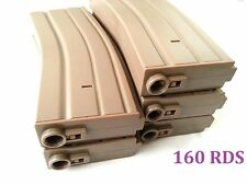 E&C 5 Pcs 140 Rounds 6mm Pellets Mag For Airsoft M Series DE (EC-MA003B)