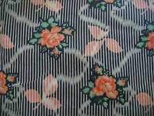 Vintage MATISSE of Bond St LIBERTY Roses Print Belted Tunic / Shirt Bust 34""