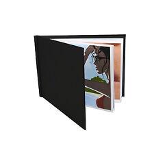 """Album photo pinchbook (8.5 """"x 11,75"""") (A4 Paysage) noir, pas de fenêtre"""