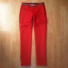 El Ganso - Red Chinos - EU38 W30 L34 - 100% Cotton - Trim Detail - Trousers