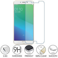 2PC x Oppo R9 Genuine 9H Tempered Glass Clear Film Screen Protector New