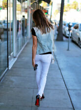 DL 1961 Emma 4 Way Stretch Skinny Legging Jean White NWT 32