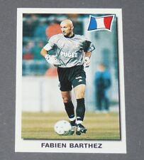 10 FABIEN BARTHEZ AS MONACO FRANCE PANINI SUPER FOOTBALL 99 1998-1999