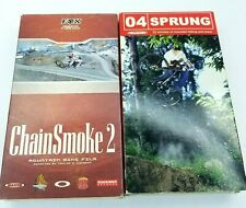 Fox Chain Smoke 2  Sprung 04 VHS Mountain Bike Videos MTB Freeride Lot 2 DH