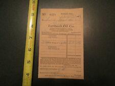 Faribault Oil Co Minnesota 1924 Letterhead 282