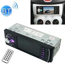 "autoradio ecran 4.1"" bluetooth mp3 mp5 kit main libre fm usb sd micro 1din"
