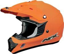 Caschi arancioni marca AFX per la guida di veicoli