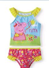 Peppa Pig Toddler Girls Tankini 5T