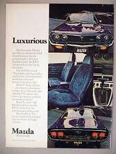 Mazda RX-4 PRINT AD - 1975