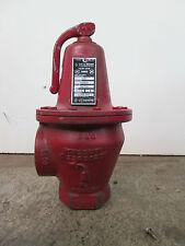 """ITT Bell & Gossett Boiler Pressure Relief Valve 1-1/2"""" Model 3301  #110033 30PSI"""