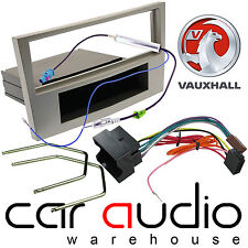 Vauxhall Astra H 2004-09 Car Stereo Fascia Panel Fitting Kit Silver CT24VX05