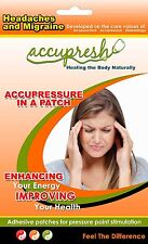 Balance Your Brain Using acupressure headaches migraine relief patches