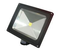 LED Floodlight 3W 10W 20W 30W 40W 50W 100W Outdoor Garden Security PIR Option