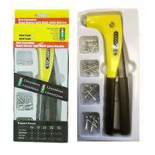 Hand Riveter gun Kit with Multi-sized Blocker Rivet Gun Hand Riveter Tool