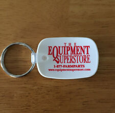 Vintage Keychain THE EQUIPMENT SUPERSTORE Key Fob Farm Parts Agriculture USA