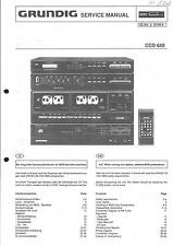 Grundig Original Service Manual für CCD 650