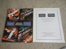 Ed Brown Products - 2006 Catalog With Price List - Custom Rifles - Gun Parts