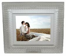 "Waterford Lismore Diamond Digital 8"" Photo Frame Luxury New In Box # 40000200"
