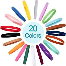 20 Colors Puppy Whelping Collars Double-Sided Adjustable Id Collars Soft