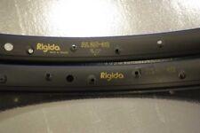 Rigida  AL 25-32 Rim Set 26'' vintage mtb 36 hole single wall aluminium 559x27