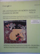 LP, AN ANTHOLOGY OF NORTHINDIAN MUSIC, Vol. IV, RARITÄT, Unesco Collection,