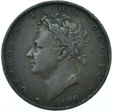 More details for 1826 farthing gb uk george iv collectible coin very nice   #wt27946