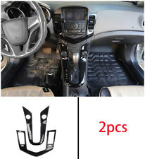 FOR Chevrolet Cruze 10-2015 ABS Black central console Gear shift AC panel  trim