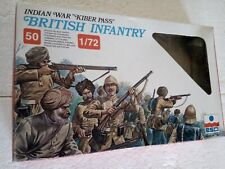 "ESCI 1/72 N° 232 Figurines British Infantry - Indian War ""Kiber Pass"""
