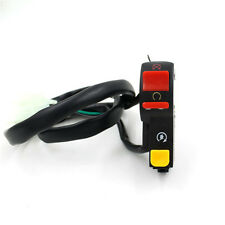 Motorcycle 7/ 8 Universal Handlebar Mounting ON/OFF Switch button DC 12V/10A