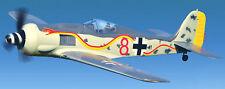 T2M Focke Wulf Fw 190 ARF motorflugzeug sin escobillas incl. servos, regulador