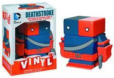 DC Universe Vinyl magnetic Interchangeable figure Deathstroke UK Seller
