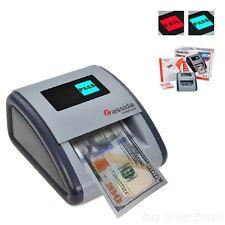 Automatic Money Counterfeit Detector Paper Bills Checker IR MG UV Scanner New