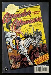 Wonder Woman #1 Millennium Edition Reprints Wonder Woman #1 from 1942 DC 2000