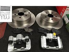 Pour Toyota Celica 1.8 VVTi 1999-2006 étrier frein arrière disques de frein arrière plaquettes de frein