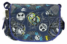 Disney Nightmare Before Christmas Jack Skellington Messenger Bag Royal Blue