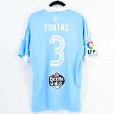 2016-17 Celta Vigo Europa League Away Shirt Iago Aspas #10 Adidas *BNWT* M Je...