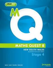 NEW Maths Quest 8 for New South Wales Australian Curriculum Edition & eBookPLUS