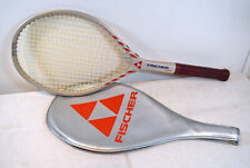 80s Vtg FISCHER Powerspot MidSize Tennis Racket Racquet Austria 4.5 L4 Grip +CVR