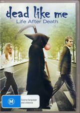 Dead Like Me DVD Life After Death Region Four R4 Ellen Muth Callum Blue guy