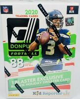 2020 Donruss Football Holiday Blaster Red/Green Optic Prizm Tua Burrow Herbert !