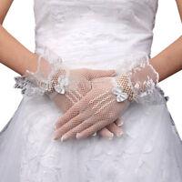 Lace Fishnet Gloves Lace Gloves Fingered Gloves