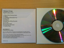 ROBERT CRAY ~'Nothin' But Love' ~Rare UK PROMO CD 2012~Blues Rock~NEW