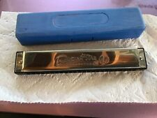 "Hohner Ocean Star International Harmonica 2540/48 ""C"" M254001 7"""