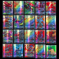 200 Stück Pokemon 195GX 5MEGA Karte Alle Holo Flash Art Trading Cards Gift su