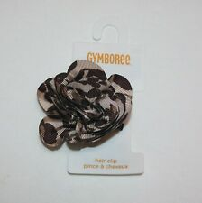 Gymboree Ready Set Go Leopard Rosette Hair Clip 3 4 5 6 7 8 9 10 11 12 NWT