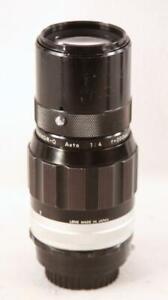 NIKON NIKKOR Q AUTO f=200mm Auto 1:4 Telephoto Lens