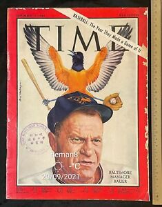 1964 Asia edition TIME The Weekly News Magazine Baltimore Manager Hank Bauer